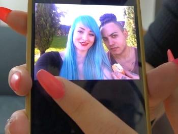 La camarera de 19 añitos que se enamoró por Facebook de un cubano de gran pollón. Mónica y Jacob, buscando ser liberales.